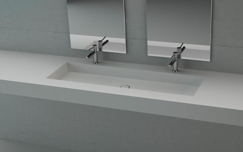 Platos ducha resina, Lavabos Encimeras y Bañeras de Corian a medida