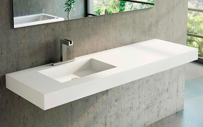 Platos ducha resina lavabos encimeras y ba eras de corian - Encimeras corian precios ...